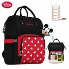 Kyпить NEW Baby Disney Diaper Bag Backpack Bottle Insulation USB Mickey Mouse Travel   на еВаy.соm
