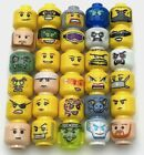 LEGO NEW MINIFIG HEADS CITY SERIES YELLOW FLESH PIRATE CASTLE MORE YOU PICK!! $0.99 USD on eBay