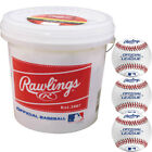 Внешний вид - Rawlings R8u Practice Baseball 2-Dozen Bucket 24 Ball Pack W/Bucket