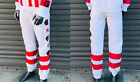 Men's Troop Red | White Fashion Track Pants
