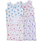 2/4 Pack Baby GIRLS Printed UNDERSHIRT Camisole TANK Top Infant Girl Clothes