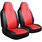 Seat Cover Set Front Integrated Bucket for Car Truck SUV PU Leather - 2pc