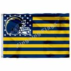 San Diego Chargers With Modified Us Flag Polyester Banner Flying Size Custom $9.95 USD on eBay