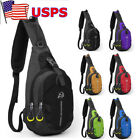 Men Women Nylon Sling Bags Backpack Crossbody Shoulder Chest Cycle Daily Travel