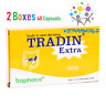 2 Boxes Tradin Extra Treatment of gastrointestinal disorders - colitis, TRAPHACO
