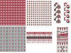 Внешний вид - Ohio State University Scrapbook Kit Paper Stickers YOU PICK FROM 8 ITEMS