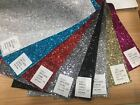 Sample Of Fabric Backed Shiny Real Glitter Wallpaper Aaa+ Grade 3d Effect Craft