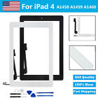 Replacement Digitizer Touch Screen Glass for iPad 4 4th Gen Tools Adhesive USA