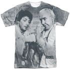 Authentic Rocky Balboa Movie Ready Photo Flag Sublimation Allover Front T-shirt