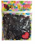 STRONG NON TOXIC UNBREAKABLE BUYTRA ELASTIC RUBBER BAND ASSORTED SIZE BLACK UK