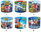 Kids Super Wings Lampshades Ideal To Match Super Wings Wall Decals & Stickers.