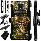 LUXGUARD For Onyx / Feller / Miro Phone Case Holster Cover CAMO FOLIAGE BROWN