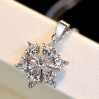 Women 925 Sterling Silver Pendant Necklace Chain Jewellery Wedding Ladies Gift