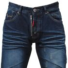 Jeans GEOGRAPHICAL NORWAY Labirinthe Blu Blue Uomo Men WP277H/GN