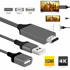 For Samsung Galaxy S10 S9 Note 9 Type-C USB-C to HDMI HDTV HD 4K Cable Adapter