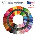 100 Colors embroidery threads cross stitch cotton Floss