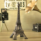 Vintage Metal Statue Figurine Paris Eiffel Tower Model Desk Home Decorative Hot