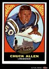 1967 Topps #129 Chuck Allen Chargers Washington 2 - GOOD $1.8 USD on eBay