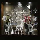 Christmas Vinyl Art Home Window Store Wall Stickers Decal Decor Removable Us M-