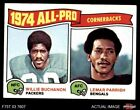 1975 Topps #221 Willie Buchanon / Lemar Parrish - All-Pro C Packers / Bengals EX $0.99 USD on eBay