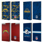 OFFICIAL NFL 2018/19 LOS ANGELES CHARGERS LEATHER BOOK CASE FOR AMAZON FIRE $31.95 USD on eBay