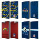 OFFICIAL NFL 2018/19 LOS ANGELES CHARGERS LEATHER BOOK CASE FOR AMAZON FIRE $19.95 USD on eBay