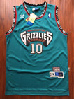 Vancouver Grizzlies Mike Bibby Basketball Jersey Throwback Swingman 10 Teal