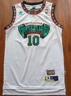 Vancouver Grizzlies Mike Bibby Basketball Jersey Throwback Swingman #10 White