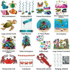 UNDER THE SEA OCEAN THEME DECORATIONS - PARTYWARE COMPLETE COLLECTION