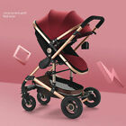 2 In 1 Baby Stroller Foldable Pram Car Pushchair New Born Carriage Infant Travel