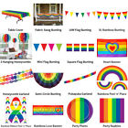 RAINBOW PRIDE MULTICOLOUR THEME DECORATIONS - PARTYWARE COMPLETE SELECTION