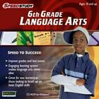Speedstudy Middle School Language Arts 6th 7th 8th Grade PC Windows 32-Bit New