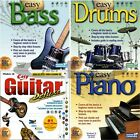 Learn How Play Musical Instruments Tutorials PC Windows XP Vista 7 8 10 Sealed