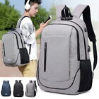 Unisex Boys Girls School Large Backpack Travel Rucksack Shoulder Laptop Bag USB