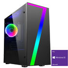 Ultra Fast Amd Quad Core Spec Your Graphics Home Gaming Pc Computer V3x Rgb