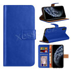 Case For iPhone 11 6 7 8 5 Plus XR XS Max Cover Real Genuine Leather Flip Wallet