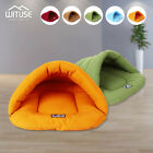 Cozy Pet Puppy Cat Dog Nest Bed Soft Warm Cave House Winter Sleeping Bag Mat 74
