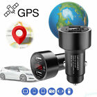 Car SPY GPS Tracker Locator Real Time Tracking Device Dual USB Charger Voltmeter $5.39 USD on eBay