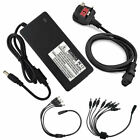 12V 3A CCTV Power Supply Adapter 4/8 Way Splitter Cable Recorder/Camera CE Cert