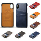 Ultra Thin PU Leather Phone Case Cover Fitted Case Card Holder Back Cover GIFT