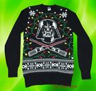 New Star Wars Darth Vader Mens Holiday Black Ugly Christmas Sweater $29.95 USD on eBay