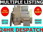 Cardboard Boxes All Sizes Small / Medium / Large / X-Large - Free Delivery