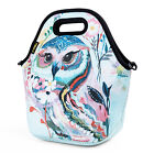 Neoprene Insulated Lunch Bag for Women Girls Kids Large Food Bag Lunch Box Tote