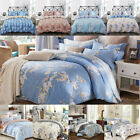 100% cotton duvet cover set--3 Piece Duvet Covers and Pillowcases Bedding Sets image