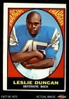 1967 Topps #131 Speedy Duncan Chargers Jackson St 4 - VG/EX $16.5 USD on eBay