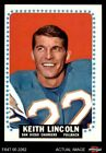 1964 Topps #164 Keith Lincoln Chargers Washington St 5 - EX $14.0 USD on eBay