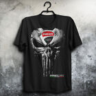 Ducati Corse - skull Punisher Men's US shirt so cool Size S to 4XL
