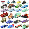 1:55 Disney Pixar Cars Racers No.1-No.123 Loose Model Toy Car Gift For Kids Boys