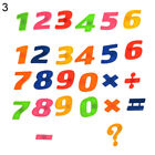 Kids Learning Teaching Magnetic Toy Letters & Numbers Fridge Magnets Alphabet Su