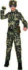 Child Kids Army Military Combat Soldier Jumpsuit Camo Uniform Halloween Costume